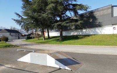 Skate park vignette